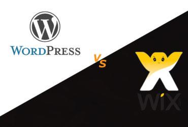 Wix vs Wordpress comparation