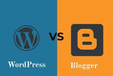 Wordpress vs blogger pros & Cons