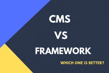 CMS vs Frameworks Codecaste